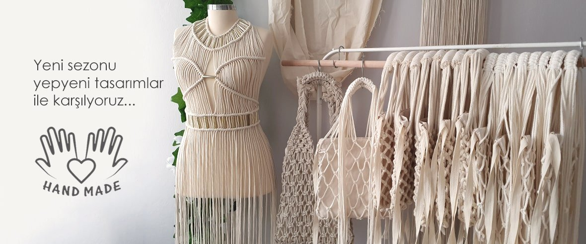 Makrome Elbise ve Çanta Modelleri - Anasayfa
